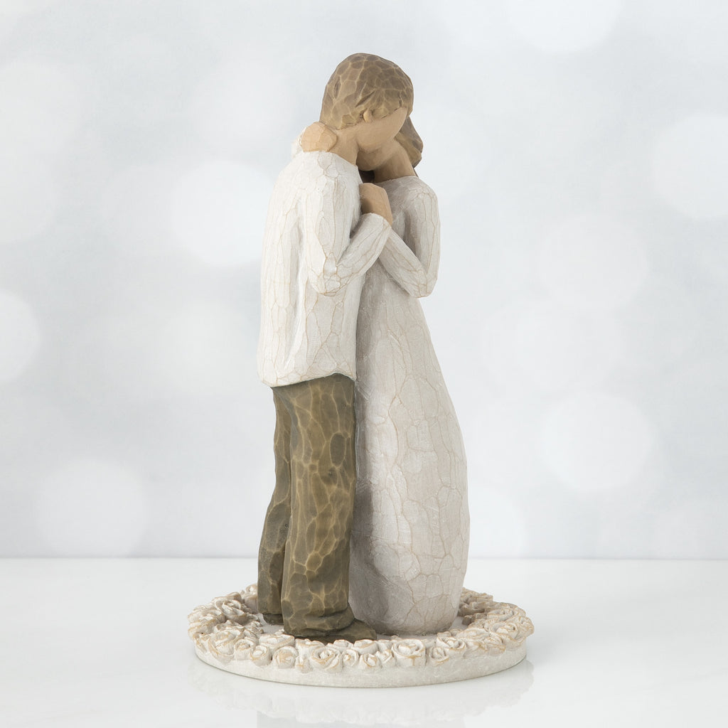 The Shabby Shed - Willow Tree Figurines - Promise Cake Topper