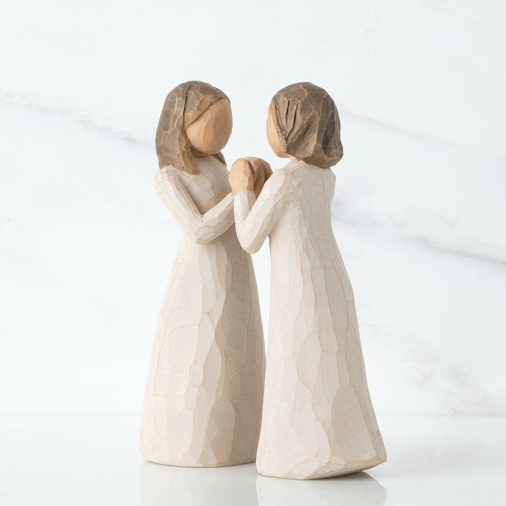 The Shabby Shed - Willow Tree Figurines - Sisters By Heart
