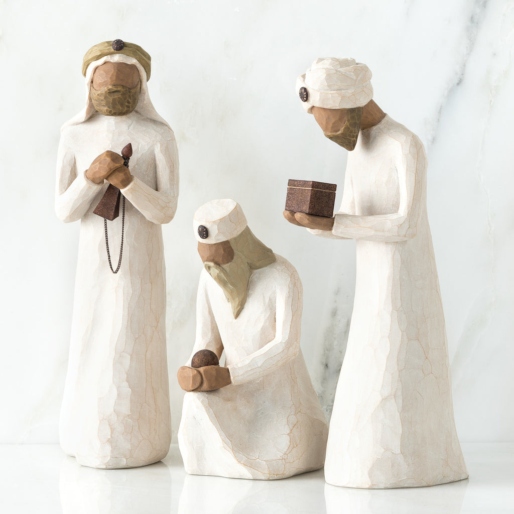 The Shabby Shed - Willow Tree Figurines - Three Wisemen