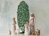 Simple Nativity Set - With Tree Silhouette