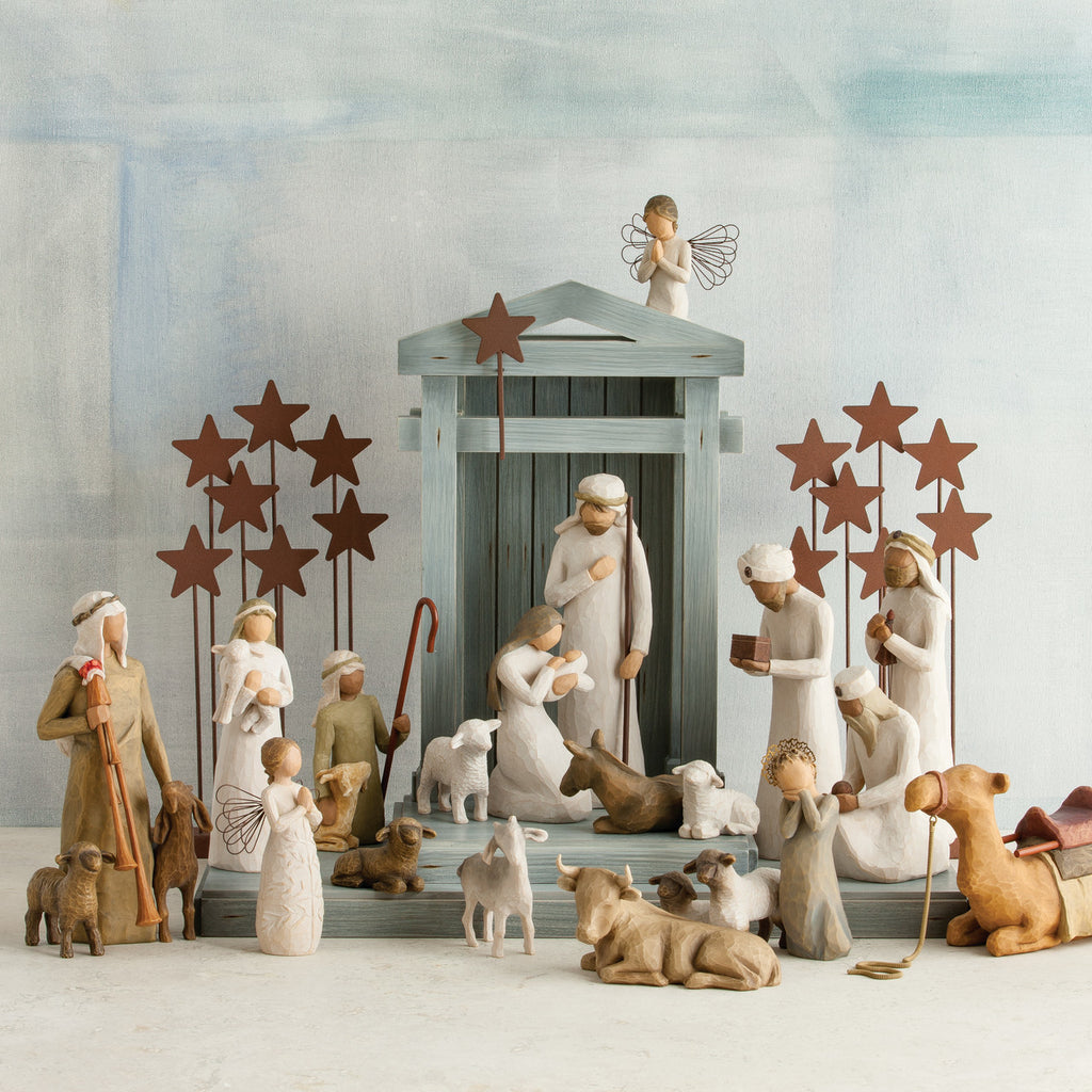 The Shabby Shed - Willow Tree Figurines - Nativity Collection