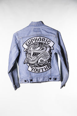 Club Euphoric Patched Jacket ( Womens 10 )