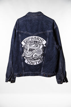 Club Euphoric Patched Jacket (X Large)