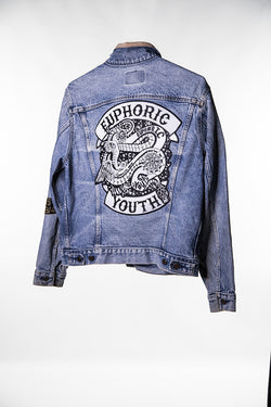 Club Euphoric Patched Jacket (Large)
