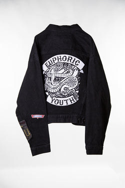 Club Euphoric Patched Jacket (Small)