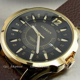 CURREN FASHION LUXURY BRAND MALE CLOCK HOURS DATE BROWN LEATHER STRAP MAN BUSINESS CASUAL WRIST WATCHES RELOJ Waterproof