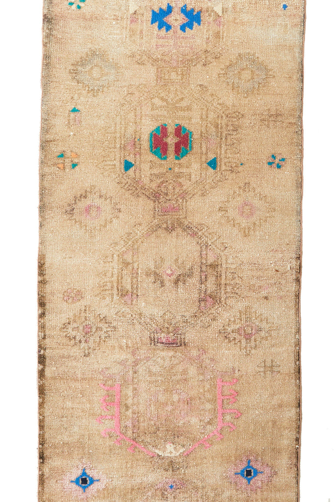'Fawn' Tribal Runner - Canary Lane - Curated Textiles