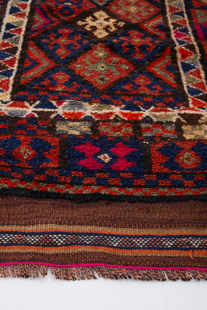'Edna' Vintage Turkish Runner- 2'7'' x 11'1''