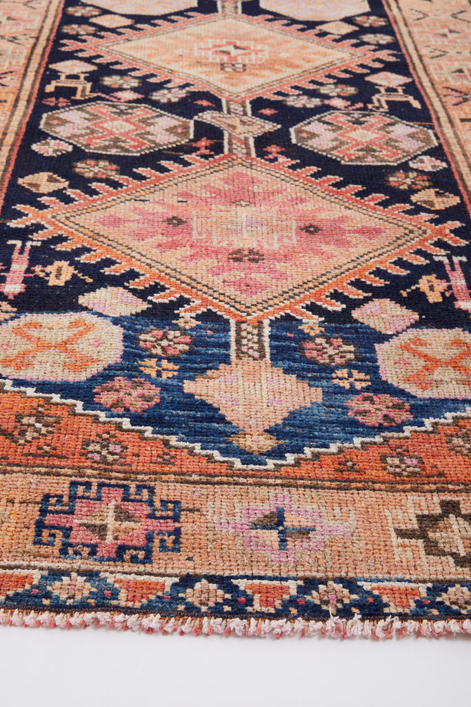 "'Rosalie' Turkish Vintage Runner - 3'9"" x 13'3"""