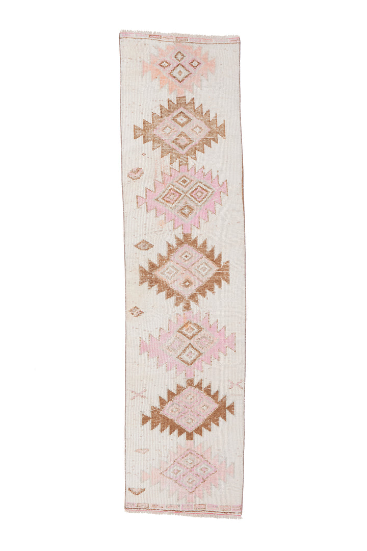 'Faye' Rare Vintage Turkish Runner- 2'6.5'' x 10'2''