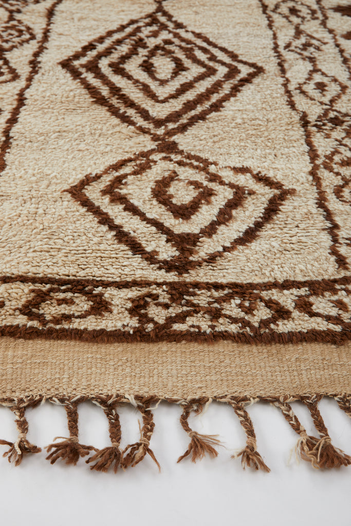 'Ingrid' Rare Kurdish Tribal Vintage Runner - 2'9'' x 13'2'' - Canary Lane - Curated Textiles