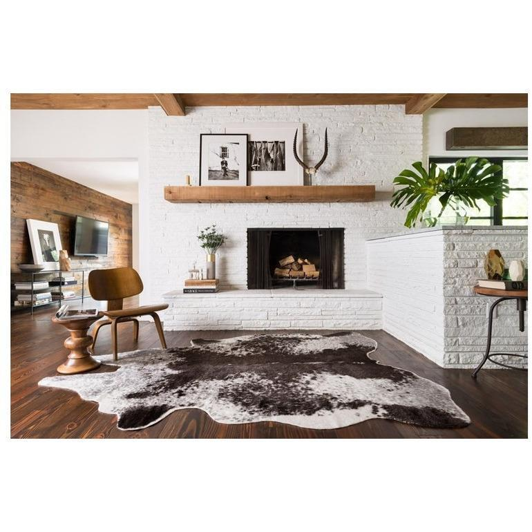 Grand Canyon Faux Vegan in Charcoal/Ivory - Canary Lane - Curated Textiles