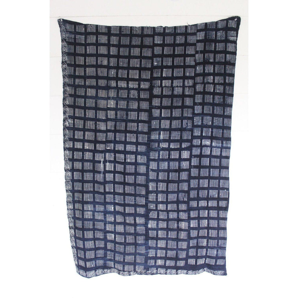 Authentic Indigo - Dashes - Canary Lane - Curated Textiles