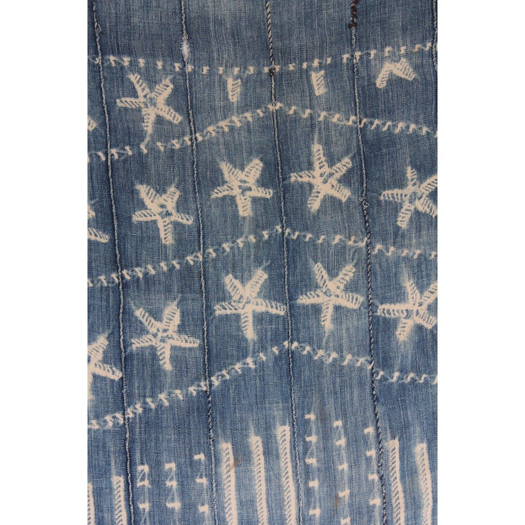 Authentic African Indigo - Starfish - Canary Lane - Curated Textiles