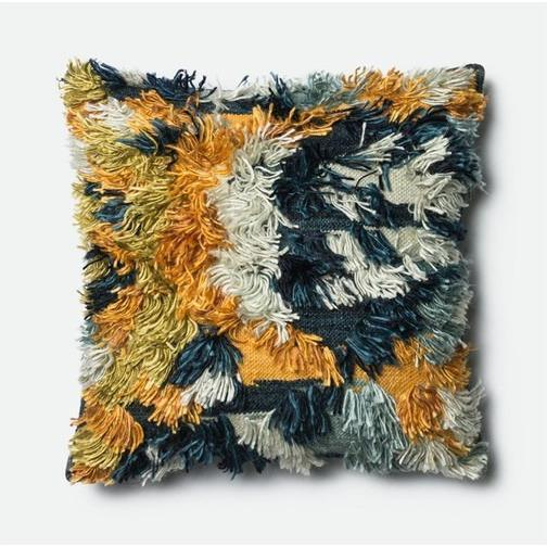 Marine Fable Pillow - Canary Lane - Curated Textiles