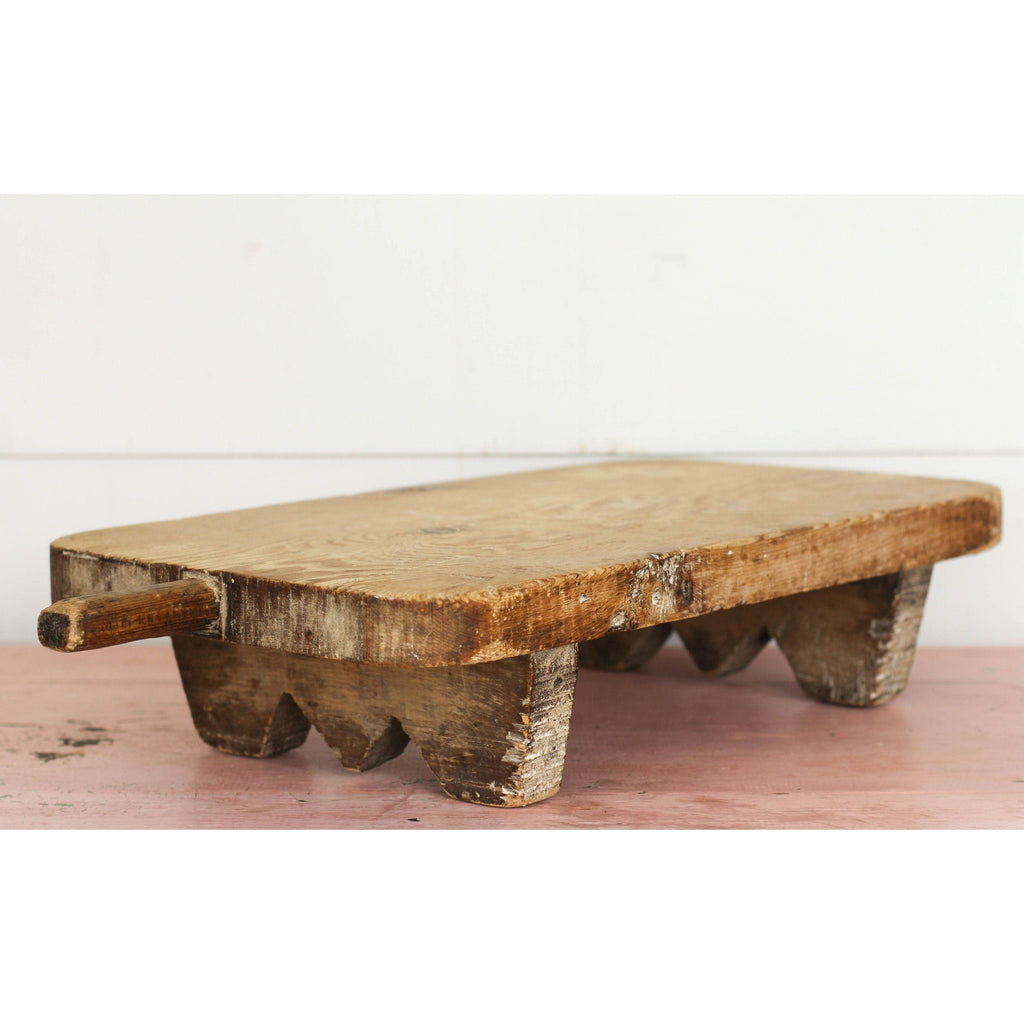 Antique Table Turkish Bread Board - Canary Lane - Curated Textiles