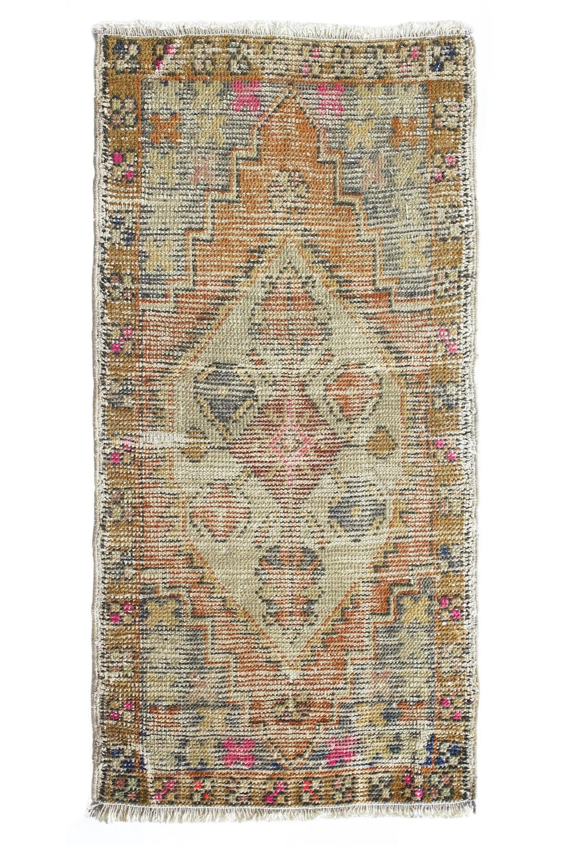 No. 368 Faded Petite Rug - Canary Lane - Curated Textiles