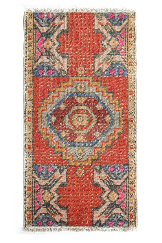 No. 375 Yastik Rug - Canary Lane - Curated Textiles