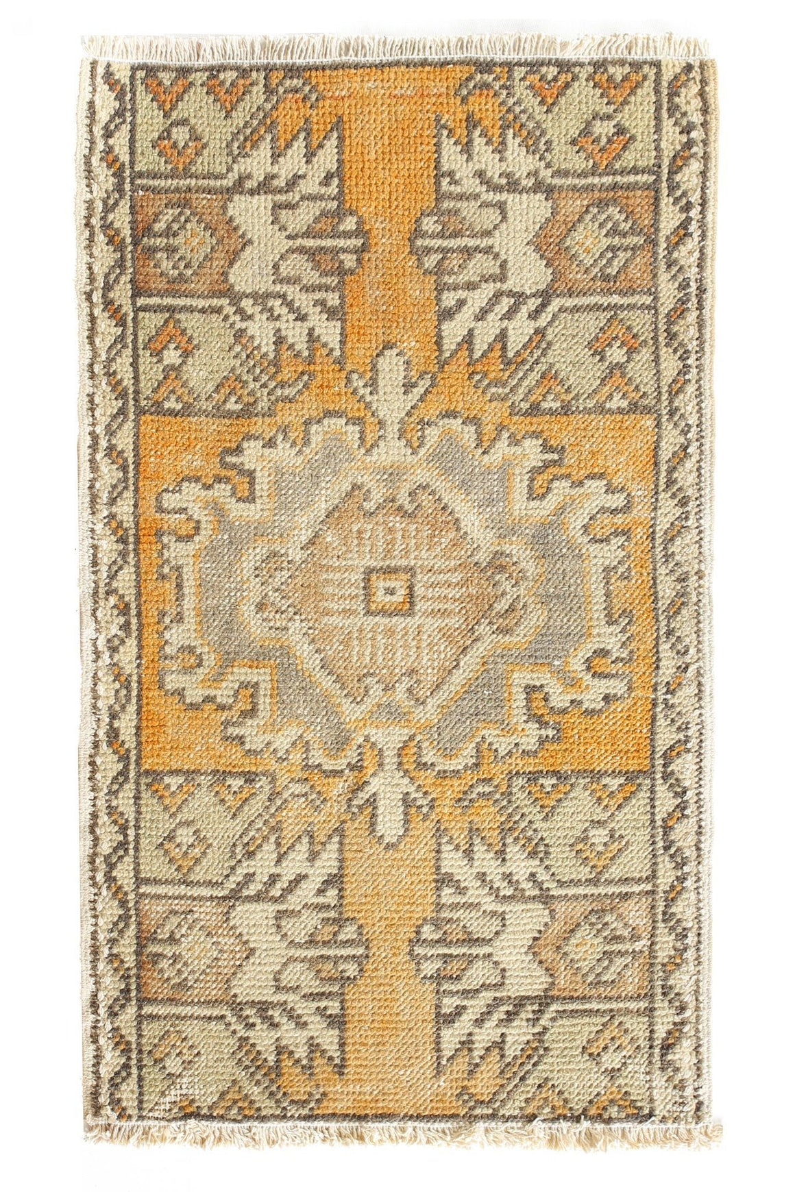 No. 379 Petite Rug - Canary Lane - Curated Textiles