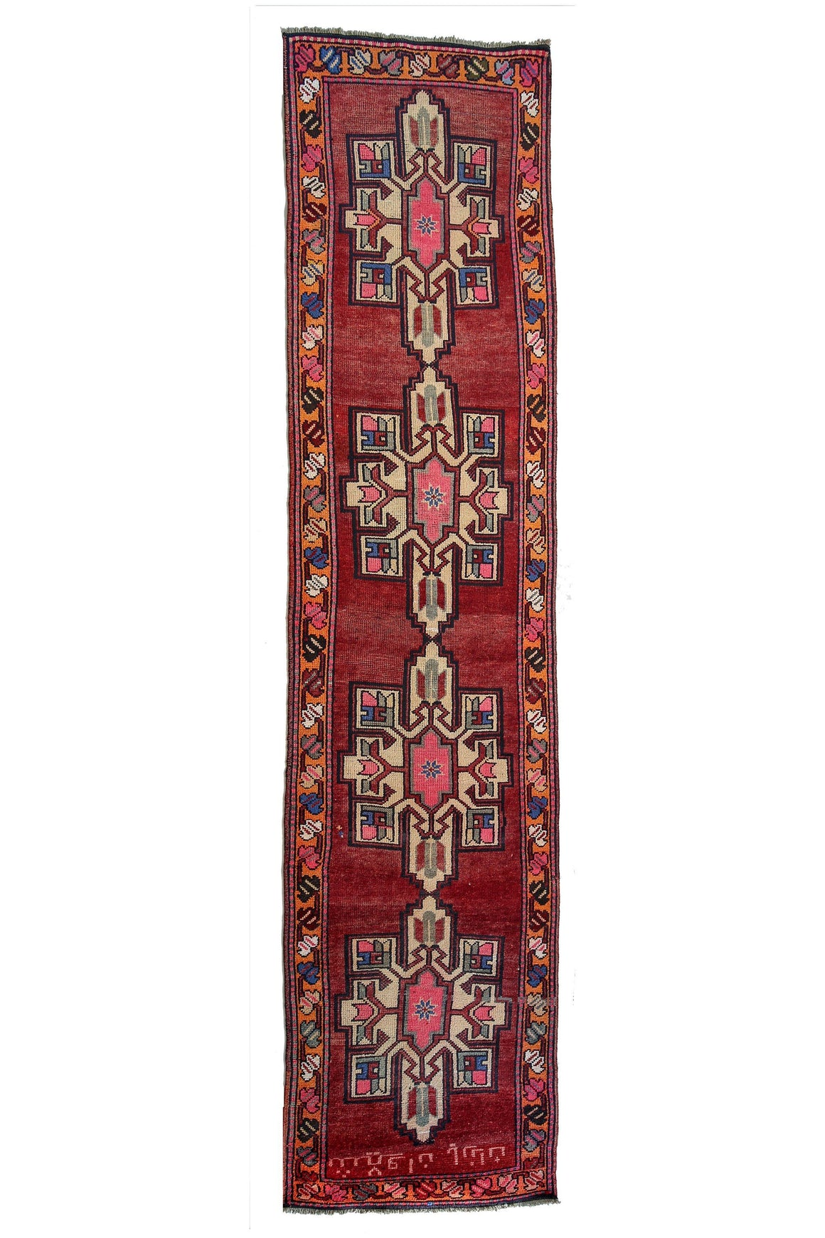 'Gladiolus' Tribal Kurdish Rug - Canary Lane - Curated Textiles