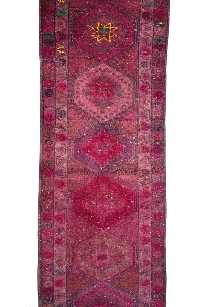 'Watermelon' Tribal Kurdish Rug - Canary Lane - Curated Textiles