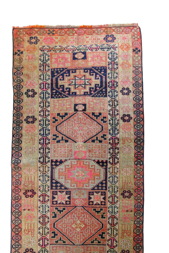 'Unicorn' Rare Tribal Runner - Canary Lane - Curated Textiles