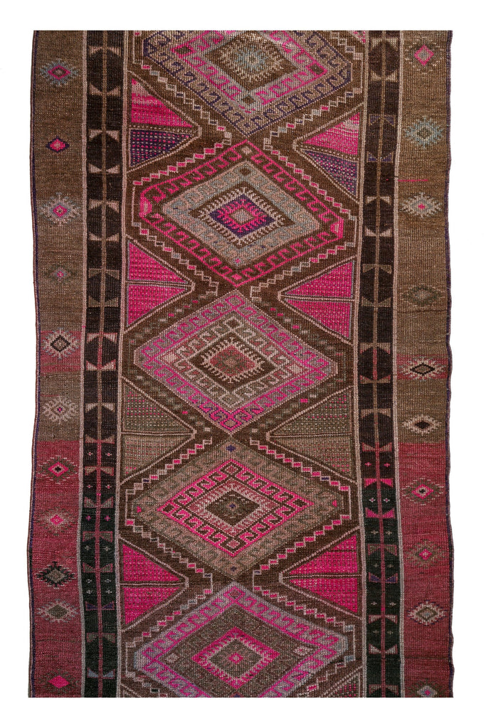 'Constantinople' Vintage Rug - 4' x 12'9'' - Canary Lane - Curated Textiles