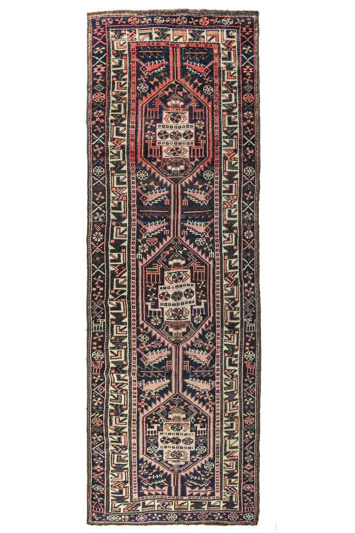'Kismet' Rare Tribal Runner Rug - Canary Lane - Curated Textiles