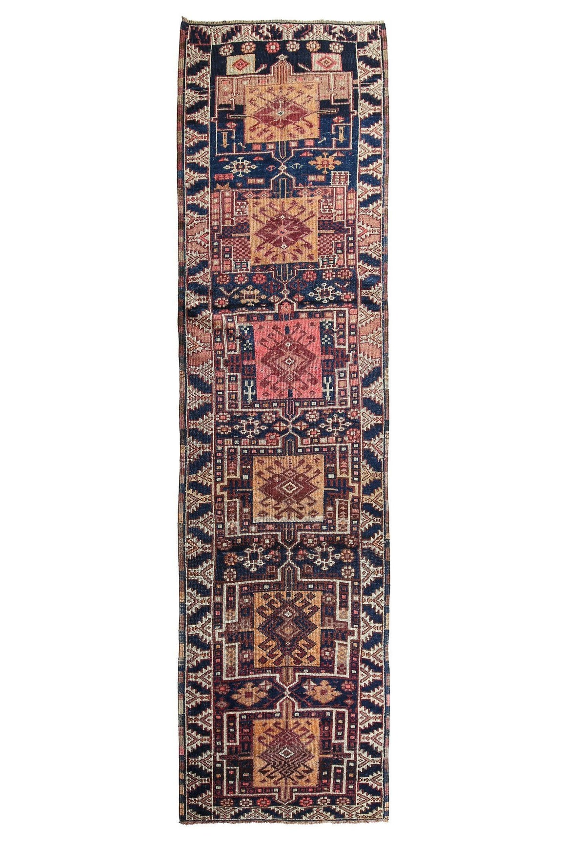 'Melody' Tribal Runner Rug - Canary Lane - Curated Textiles