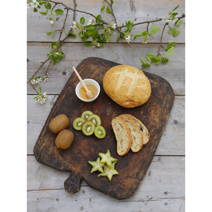 Antique Turkish Bread Board - Canary Lane - Curated Textiles
