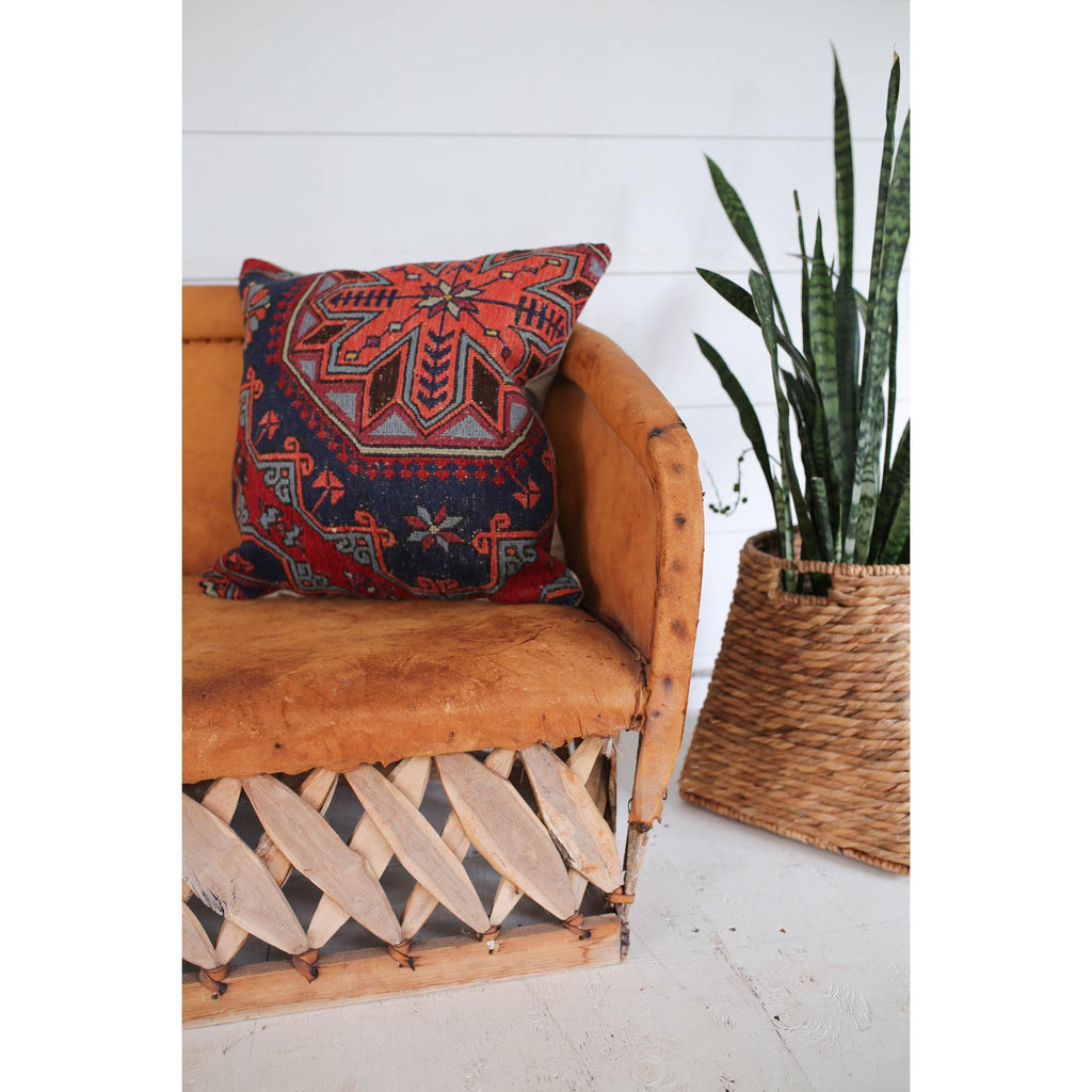 Sumac Pillow No. 15 - Canary Lane - Curated Textiles