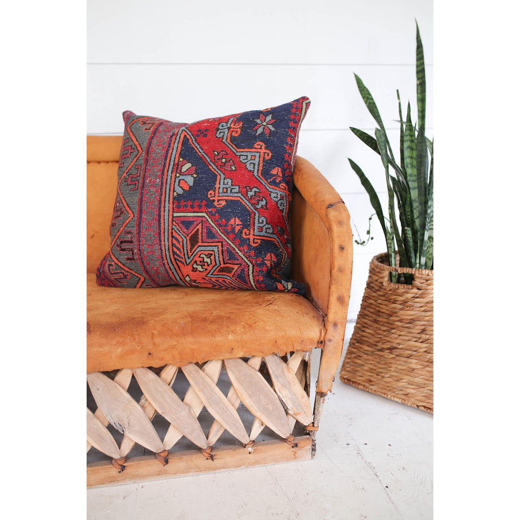 'Ruby' Kilim - Canary Lane - Curated Textiles