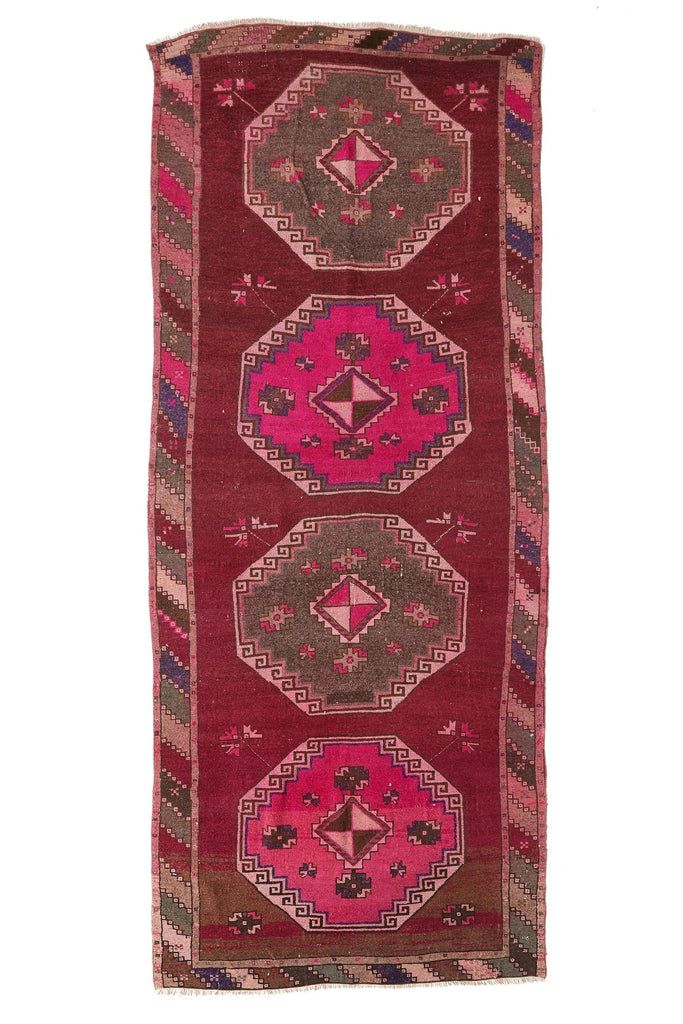 'Solstice' Turkish Large Area Rug - 4'8'' x 11'2'' - Canary Lane - Curated Textiles