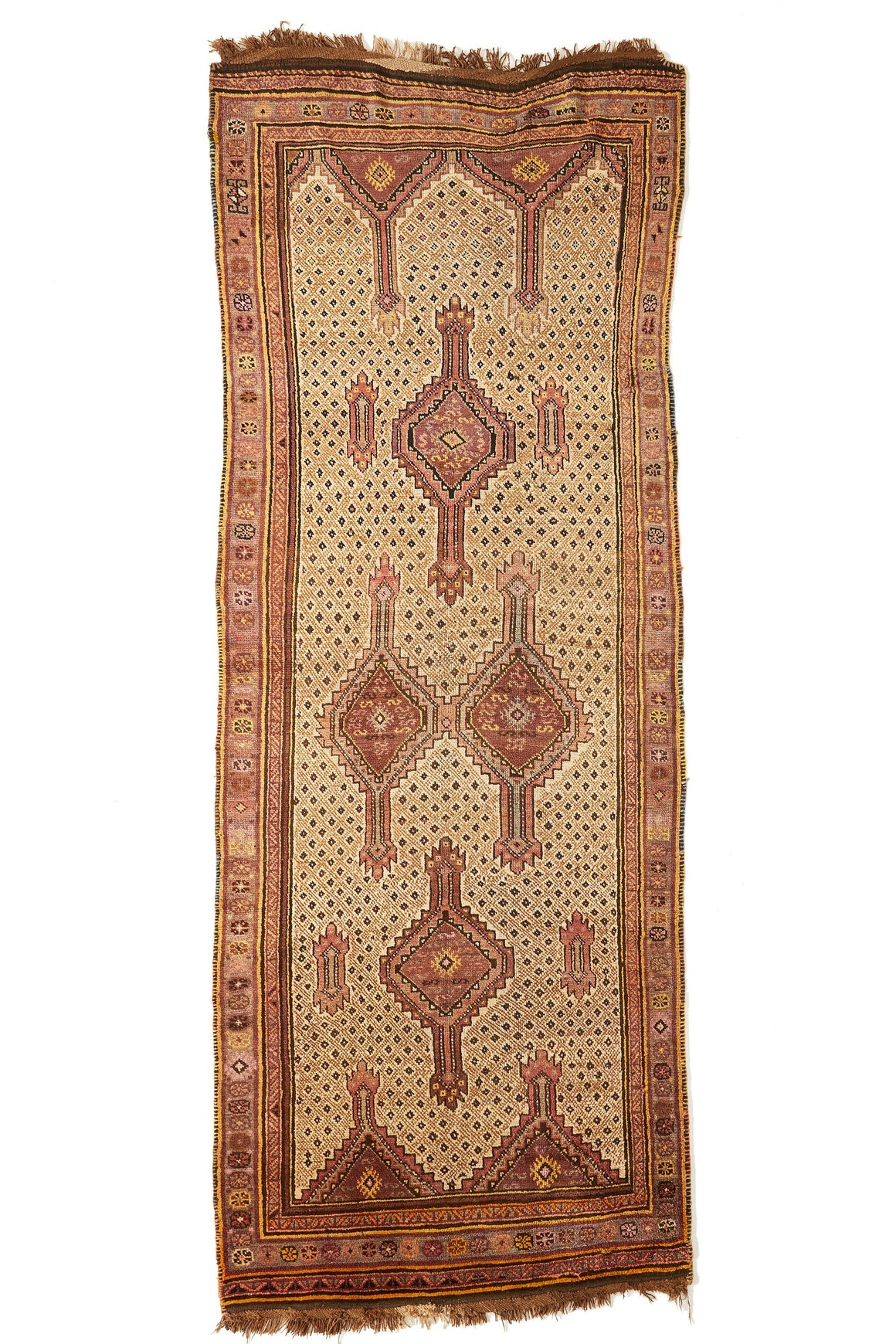 "'Sonora' Turkish Area Rug - 4'8'' x 12'10"" - Canary Lane - Curated Textiles"