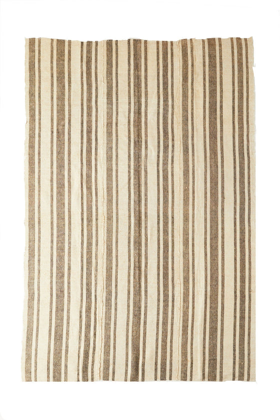 'Marley' Hemp Area Turkish Rug- 6'5'' x 9'6'' - Canary Lane - Curated Textiles