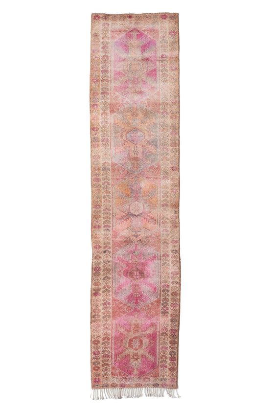 "'Neverland' Turkish Runner Rug - 2'11"" x 12'7"" - Canary Lane - Curated Textiles"