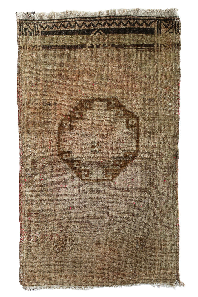 No. 337 Neutral Petite Rug - Canary Lane - Curated Textiles