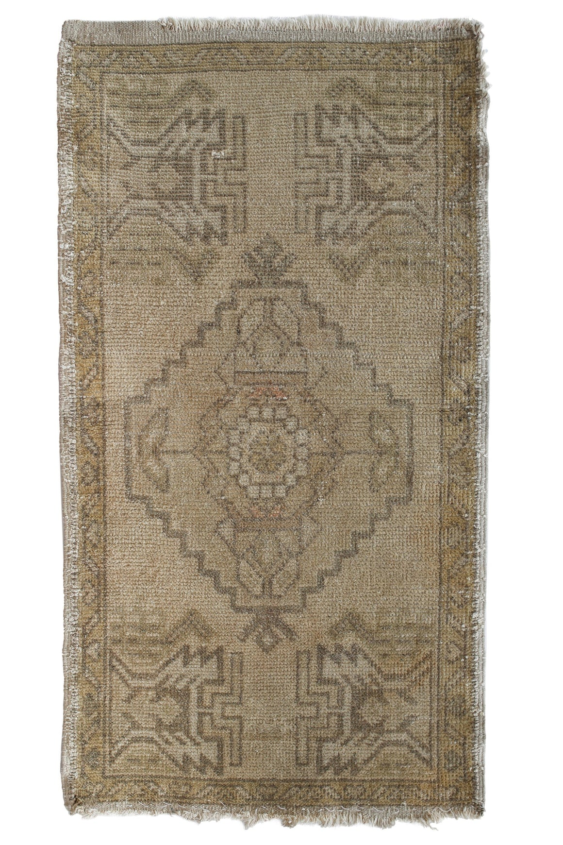 No. 341 Neutral Petite Rug - Canary Lane - Curated Textiles