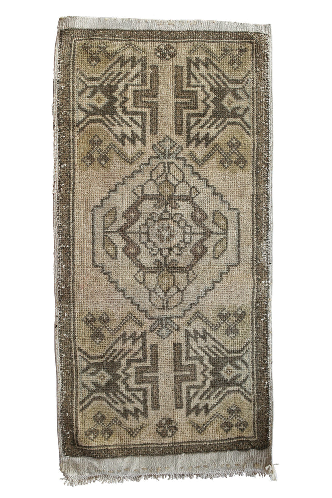 No. 351 Faded Petite Rug - Canary Lane - Curated Textiles