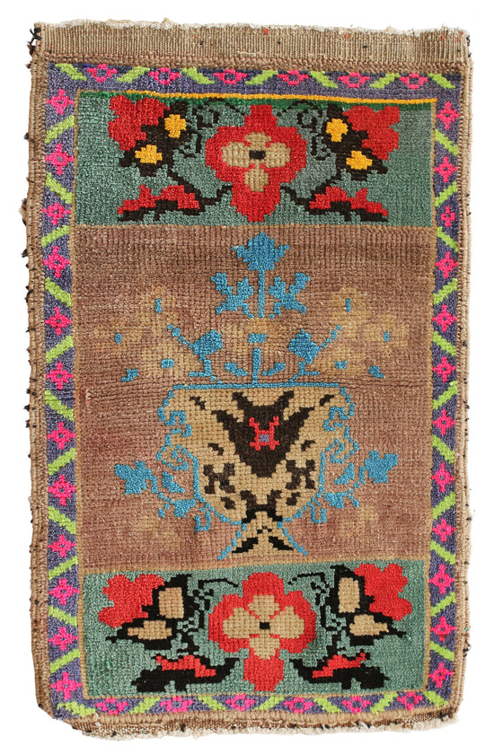No. 353 Petite Rug - Canary Lane - Curated Textiles