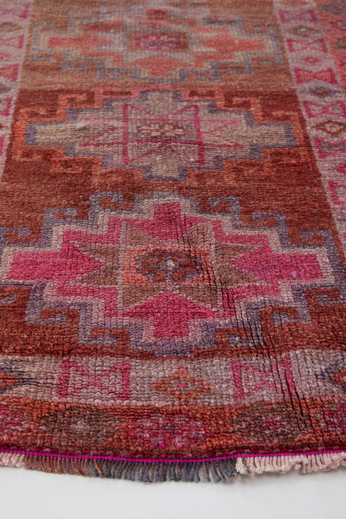 'Harvest' Turkish Runner Rug - 2'8'' x 13' - Canary Lane - Curated Textiles