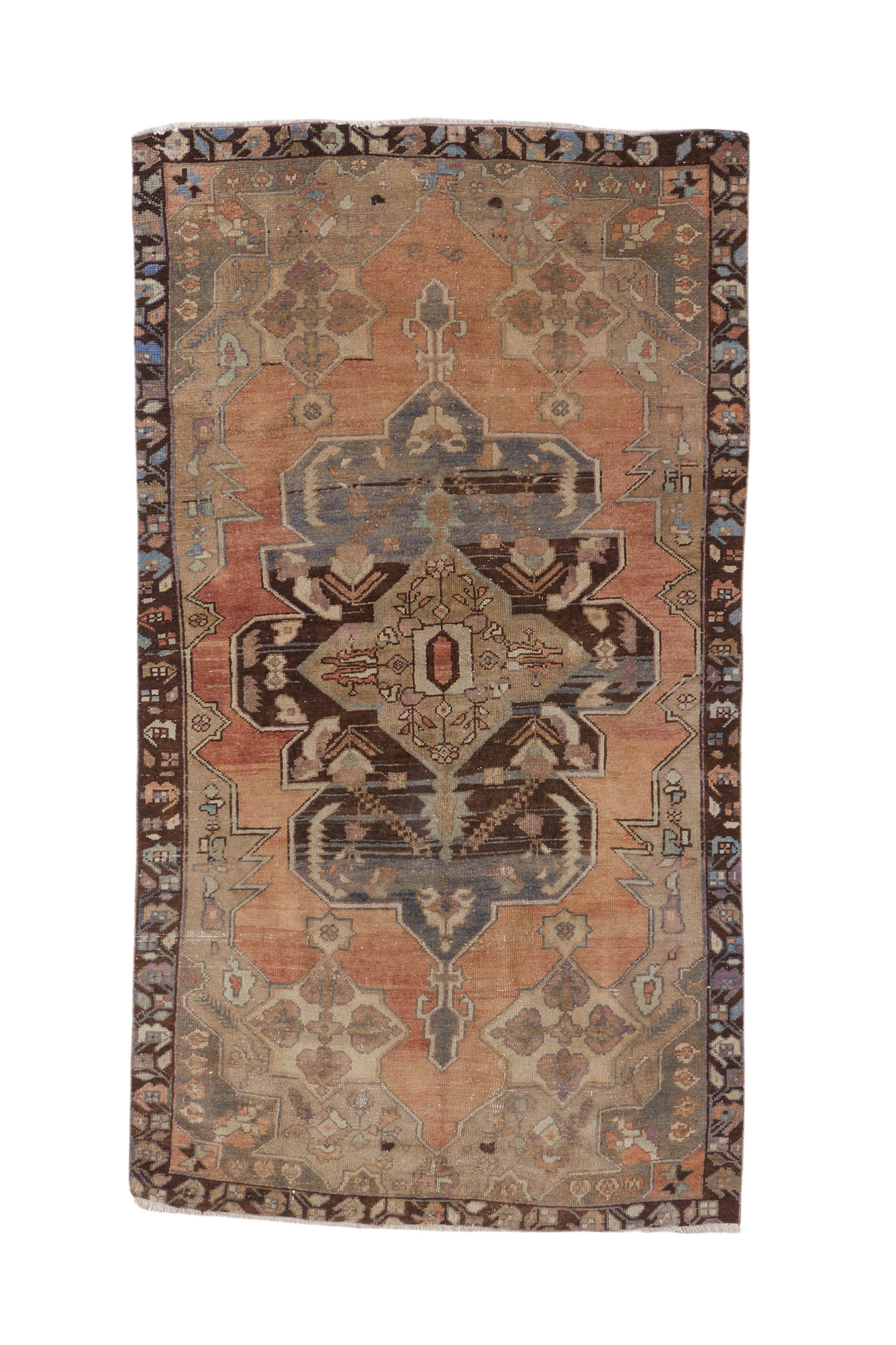 'Mera' Vintage Turkish Rug- 4'6'' x 8'2''