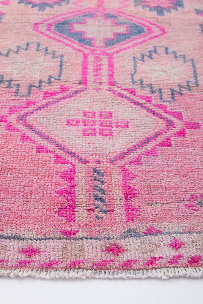 "'Primrose' Vintage Turkish Long Runner - 2'4"" x 13'8"" - Canary Lane - Curated Textiles"