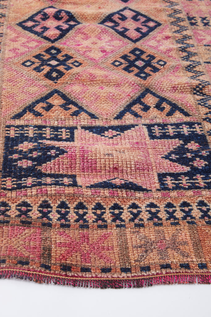 'Summer' Turkish Runner Rug - 2'8'' x 11'10'' - Canary Lane - Curated Textiles
