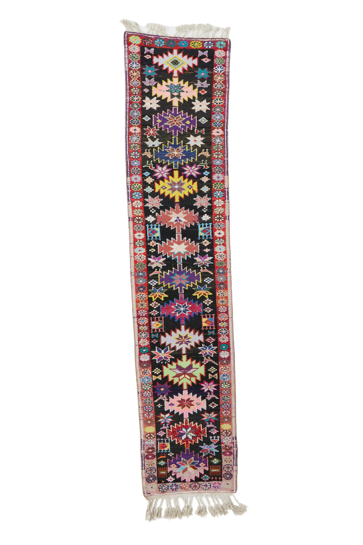 'Eclipse' Vintage Turkish Runner - 2'7'' x 11'11''