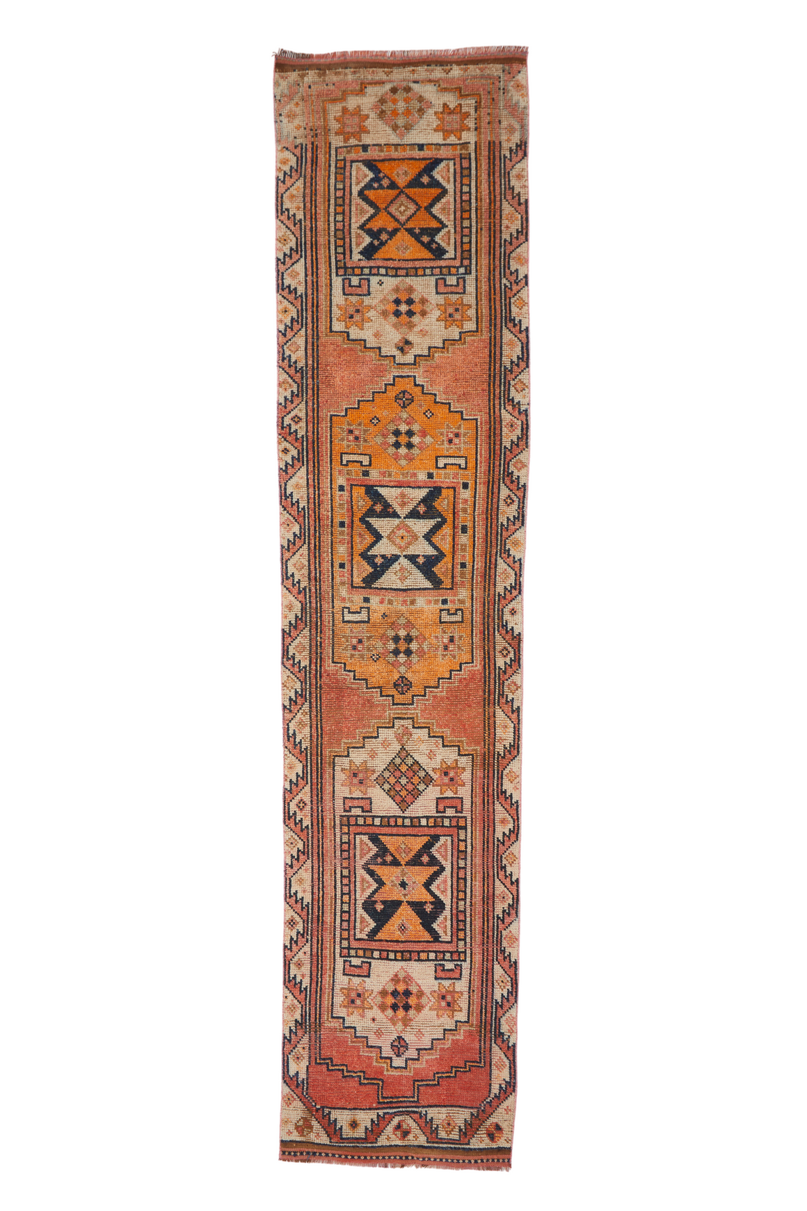 'Santa Fe' Vintage Turkish Runner (ON HOLD) - 2'9'' x 12'3""