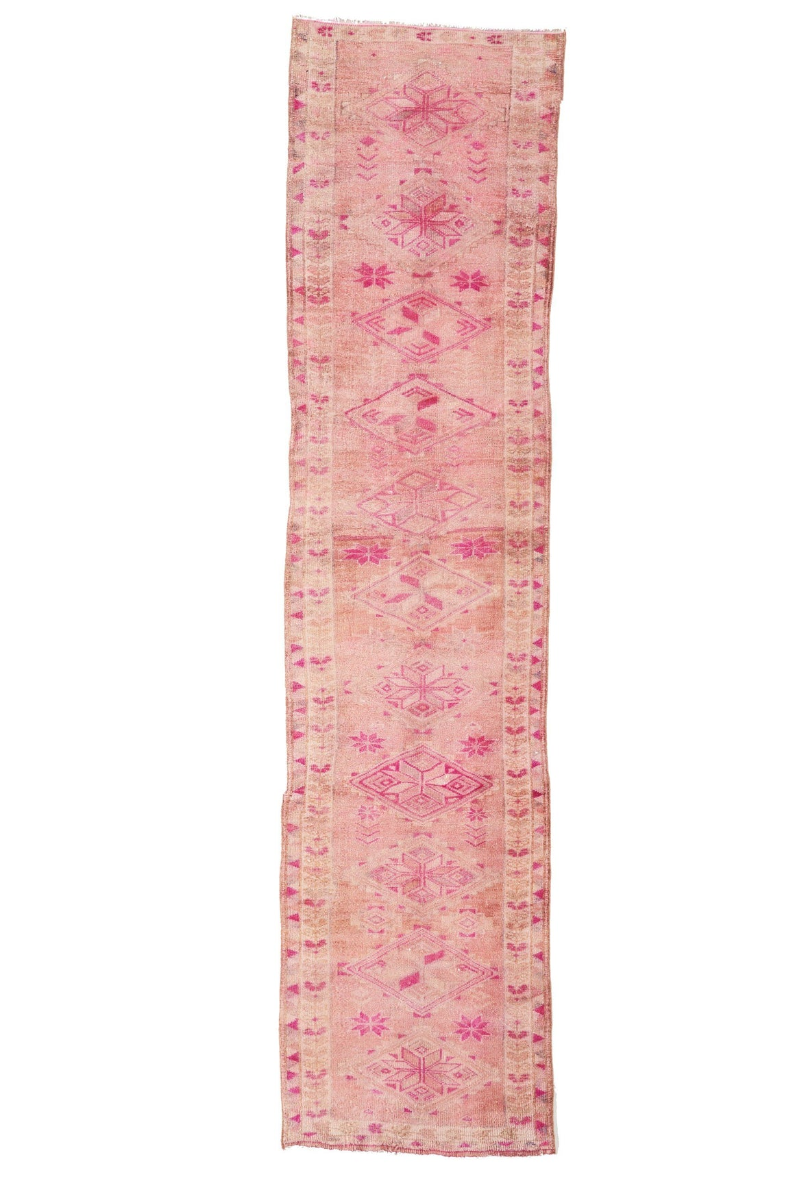'Daydream' Vintage Turkish Runner - 2'10.5'' x 12'2'' - Canary Lane - Curated Textiles