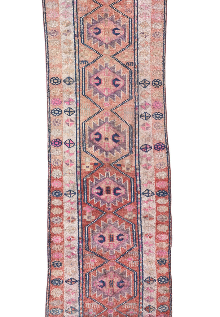 "'Zenith' Turkish Runner Rug - 2'10"" x 13'10"" - Canary Lane - Curated Textiles"