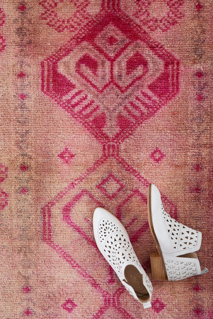 'Souffle' Turkish Ombré Runner Rug - 2'7'' x 12'8'' - Canary Lane - Curated Textiles