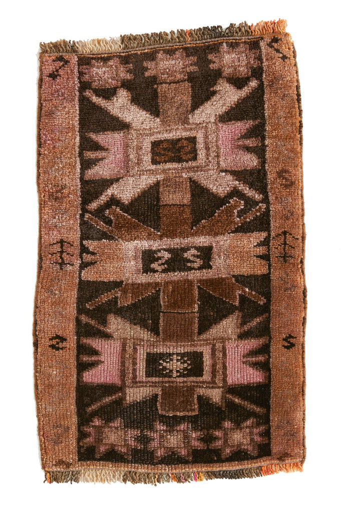 No. 481 Mini Rug - 1'6'' x 2'6'' - Canary Lane - Curated Textiles